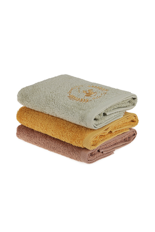 Hand Towel Set, 3 Pieces Beverly Hills Polo Club