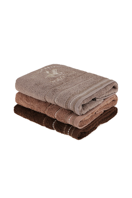 Hand Towel Set, 3 Pieces Beverly Hills Polo ClubHand Towel Set, 3 Pieces