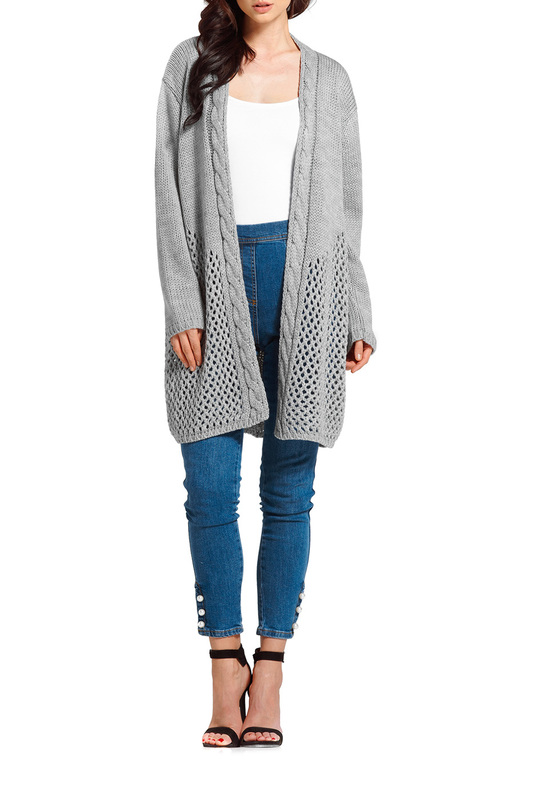 Фото - pullover Lemoniade pullover ripped high slit pullover sweater