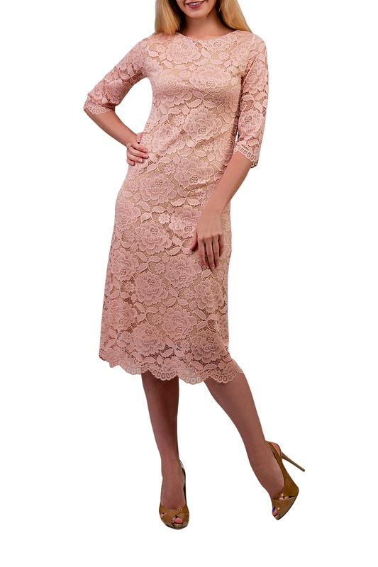dress Amato Rizzi Amato Rizzi AW00220_3_PINK_LACE Pink фото