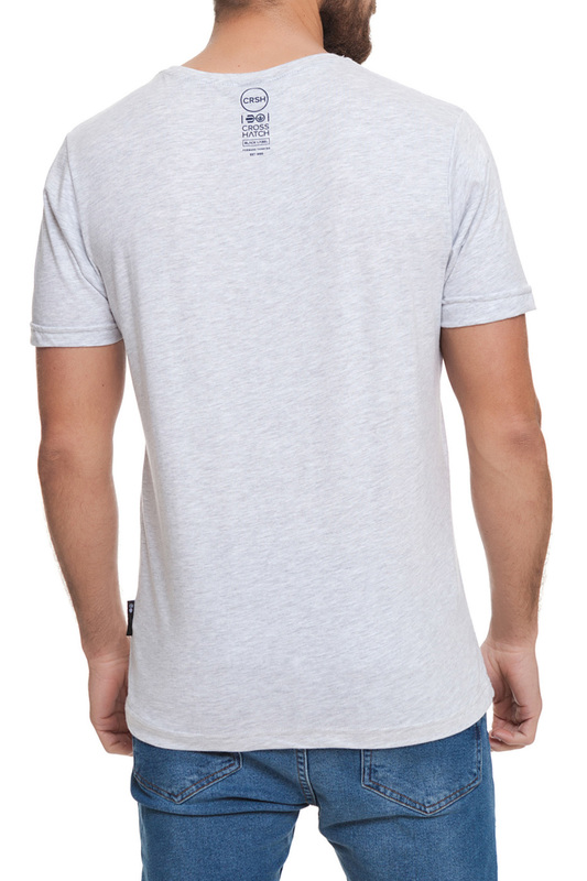 t-shirt CROSSHATCH t-shirt