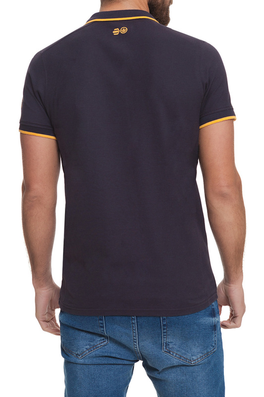polo t-shirt CROSSHATCH polo t-shirt