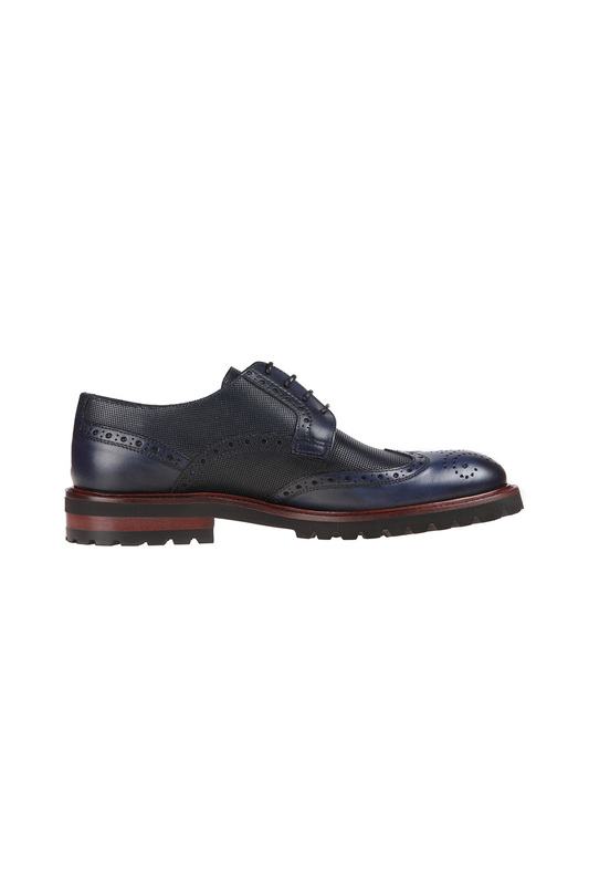 Фото 2 - shoes Malatesta цвет dark blue
