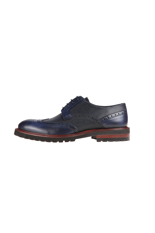 Фото 3 - shoes Malatesta цвет dark blue
