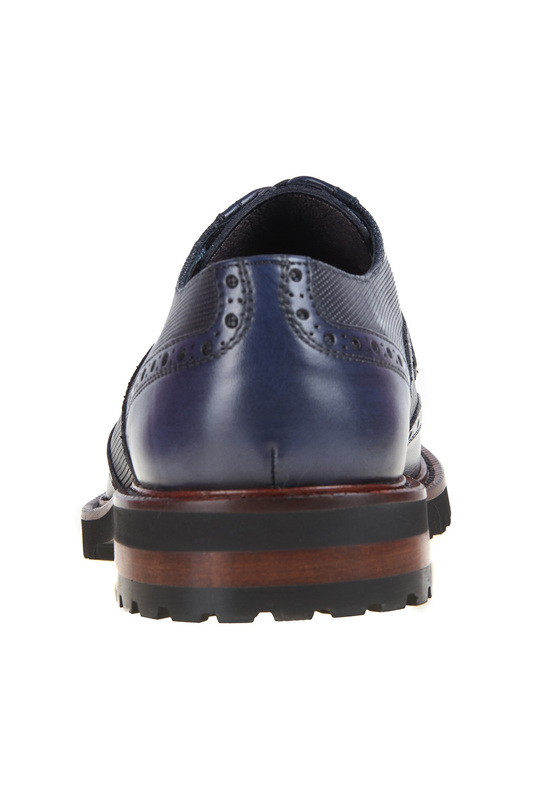 Фото 4 - shoes Malatesta цвет dark blue