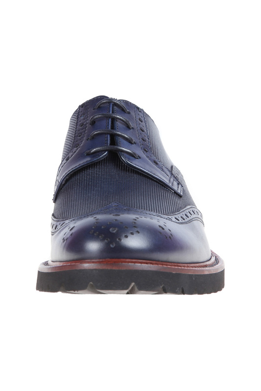 Фото 5 - shoes Malatesta цвет dark blue