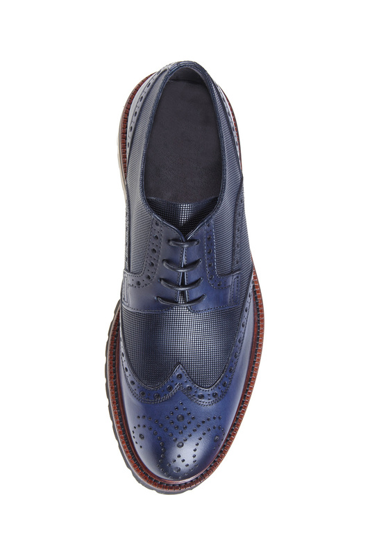 Фото 7 - shoes Malatesta цвет dark blue