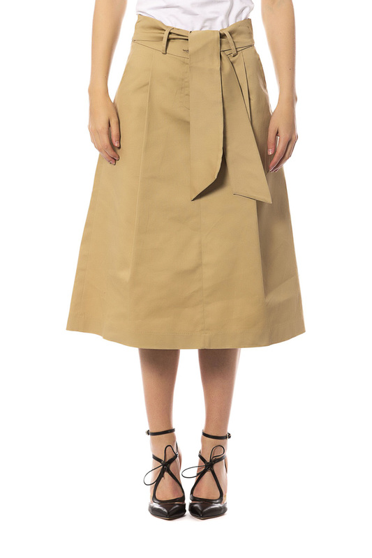 Skirt Trussardi Skirt o ring belted frilled skirt