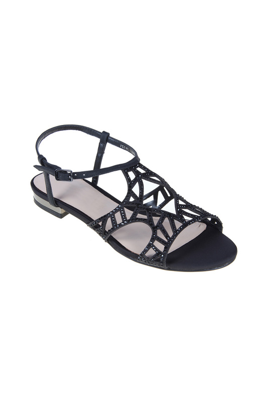 high heels sandals SARAH LONDON high heels sandals black satin bow high heels women sandals white gladiator shoes platform cover heel summer ankle cross strap party wedding shoes