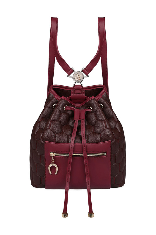 Фото 7 - backpack BEVERLY HILLS POLO CLUB цвет vinous