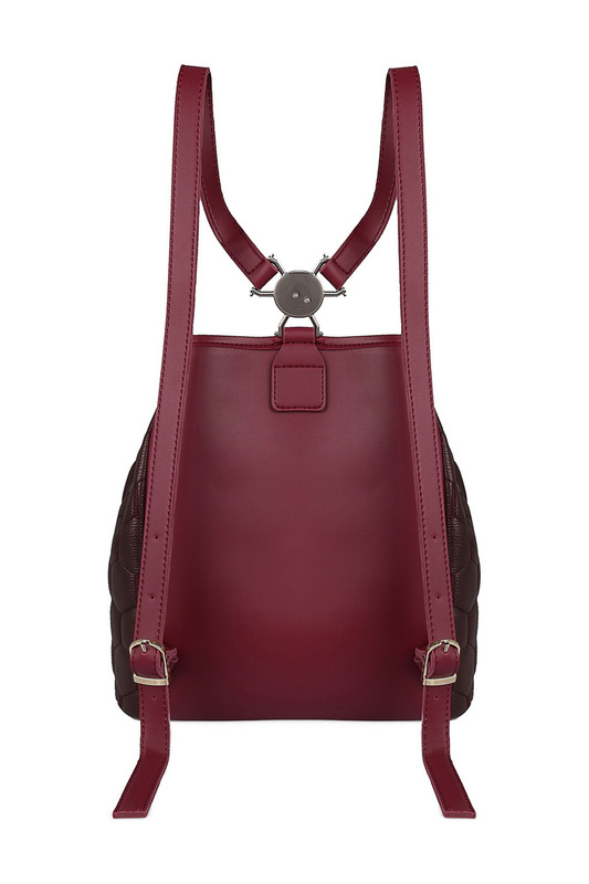 Фото 9 - backpack BEVERLY HILLS POLO CLUB цвет vinous