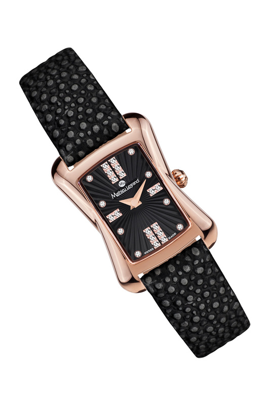 Фото 6 - watch MATHIEU LEGRAND цвет black
