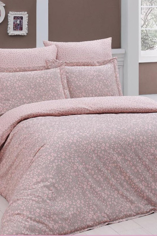 Double Quilt Cover Set, euro Turkiz