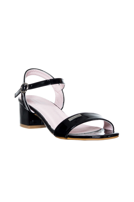 high heels sandals Lancetti high heels sandals women pumps patent leather pointed toe office shoes for ladies single shoes 2017 new woman comfortable thick heels high heels