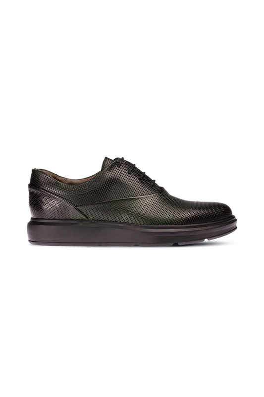Фото 2 - low shoes Deery цвет green