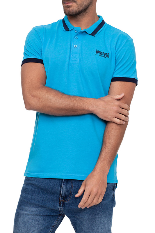 polo t-shirt Lonsdale polo t-shirt tiered flower embroidery t shirt