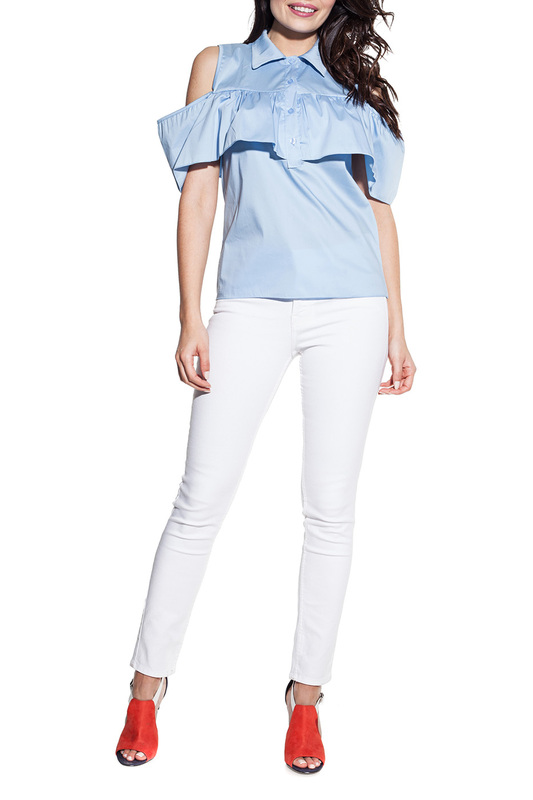 Фото - blouse Cosmo blouse contrast lace keyhole back blouse