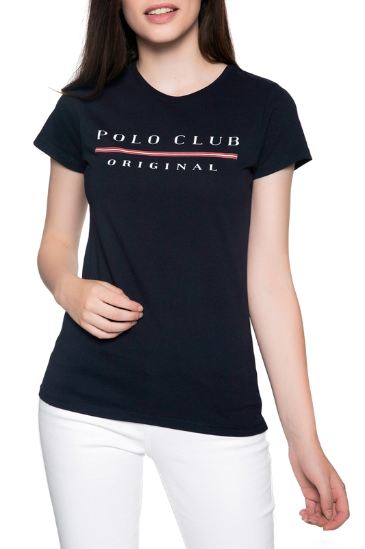 Фото - t-shirt POLO CLUB С.H.A. t-shirt color block drop shoulder high low t shirt
