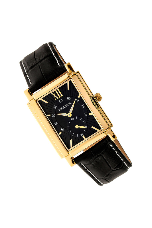 Watch Heritor Automatic Watch full automatic mechanical watch hollow out dial skeleton watch for men tevise 149004