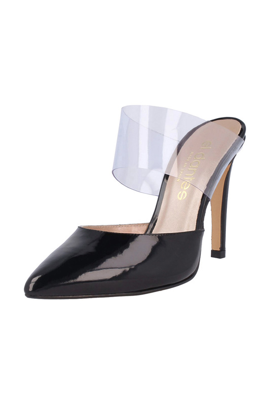 heeled sandals EL Dantes heeled sandals fashion high heeled waterproof slippers female the new word dragged loose cake shoes korean version of thick thick with sandals