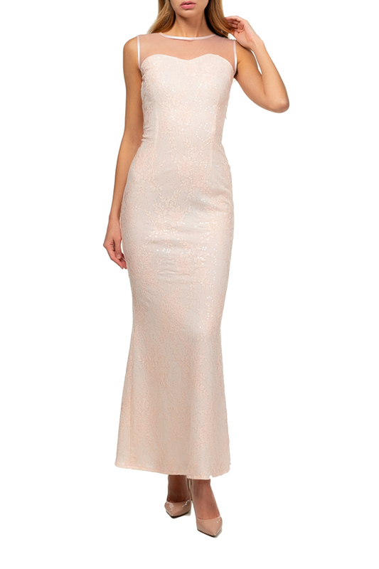 dress Amato Rizzi Amato Rizzi AS00388_PINK_MERLIN Light pink фото