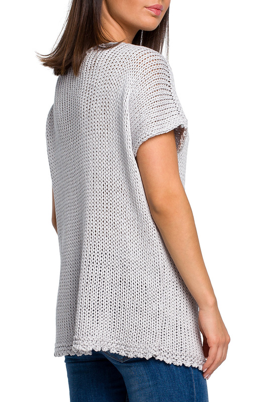 short sleeve sweater BeWear short sleeve sweater