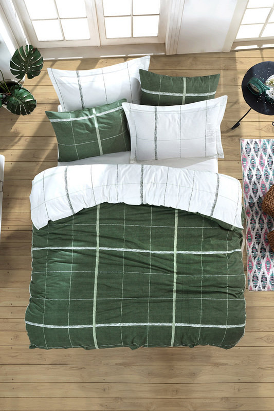 Single Quilt Cover Set ENLORA HOME Single Quilt Cover Set