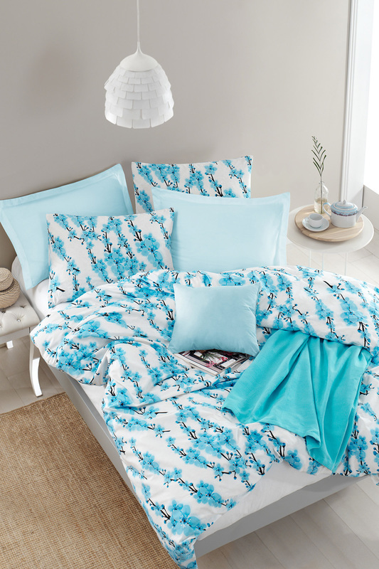 Double Quilt Cover Set ENLORA HOME Double Quilt Cover Set