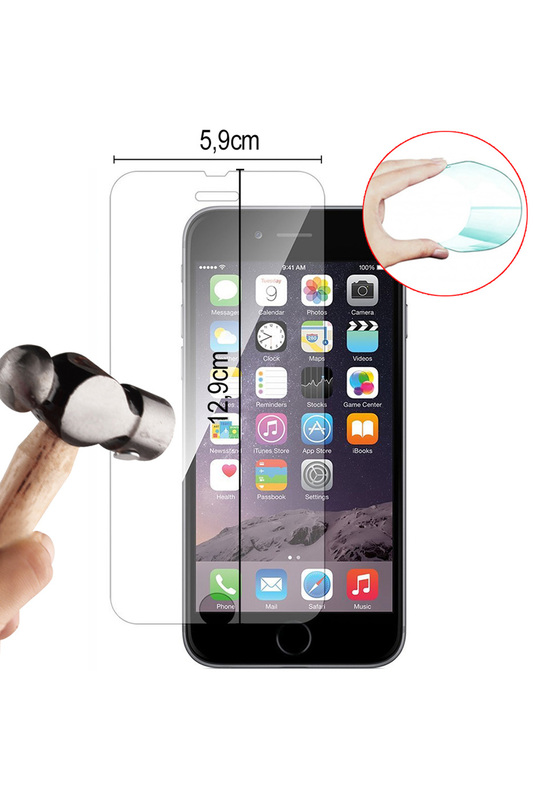 Tempered glass for iPhone 6/6s EVETANE Tempered glass for iPhone 6/6s