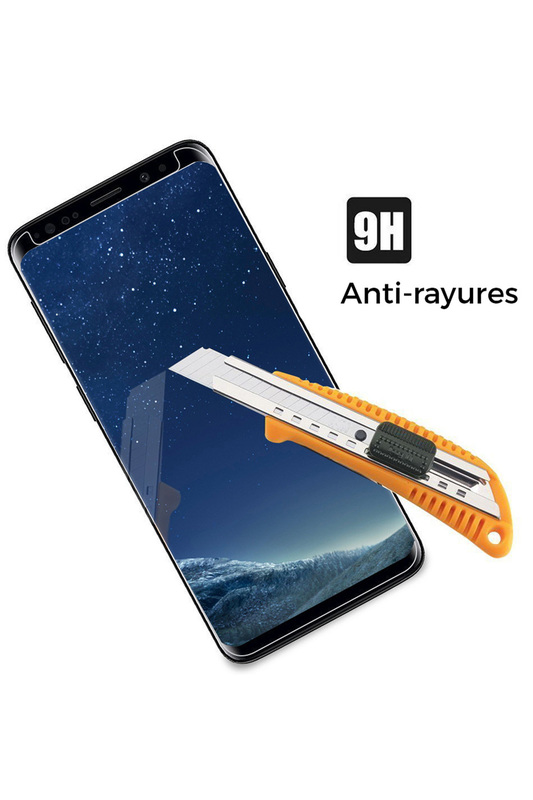 Tempered glass for Galaxy S8 EVETANE Tempered glass for Galaxy S8