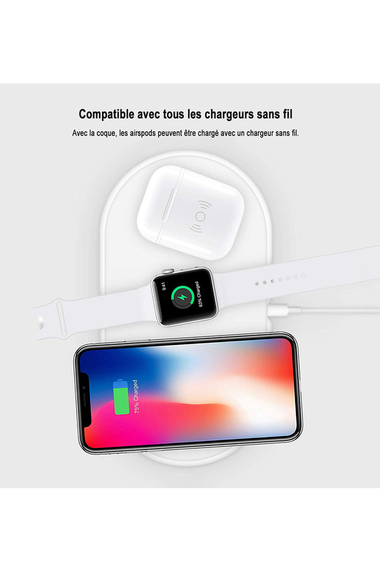 Silicone case for Airpods for EVETANE Silicone case for Airpods for