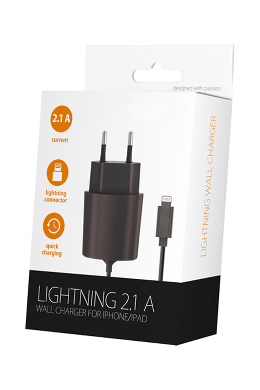 Sector Charger Lightning 2.1 A EVETANE Sector Charger Lightning 2.1 A