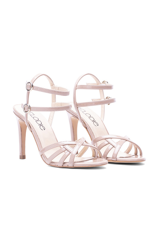 heeled sandals Elodie Shoes heeled sandals chunky heeled square toe pumps