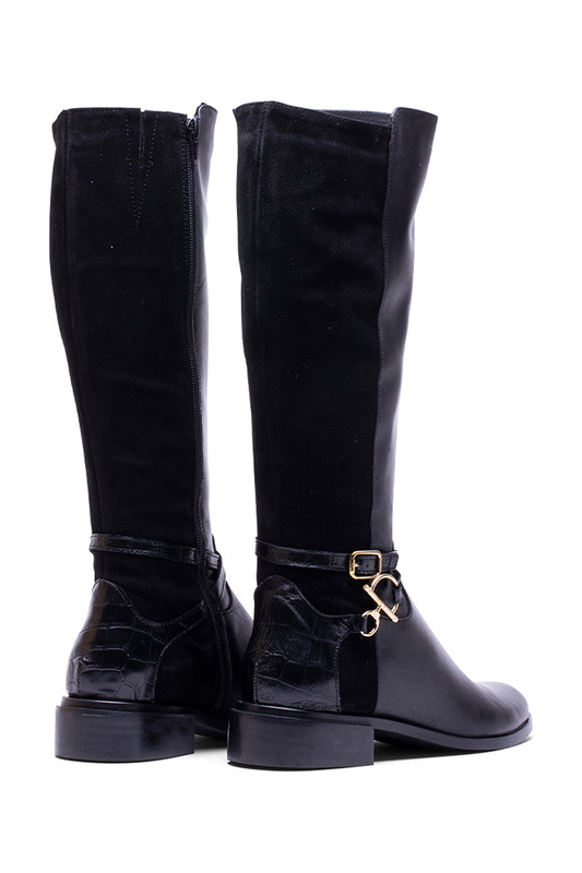 high boots Helene Rouge high boots