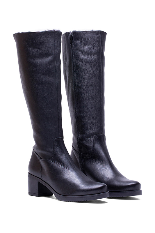 high boots Helene Rouge