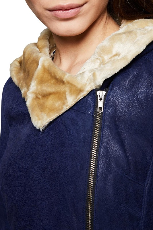 sheepskin coat Isaco & Kawa sheepskin coat