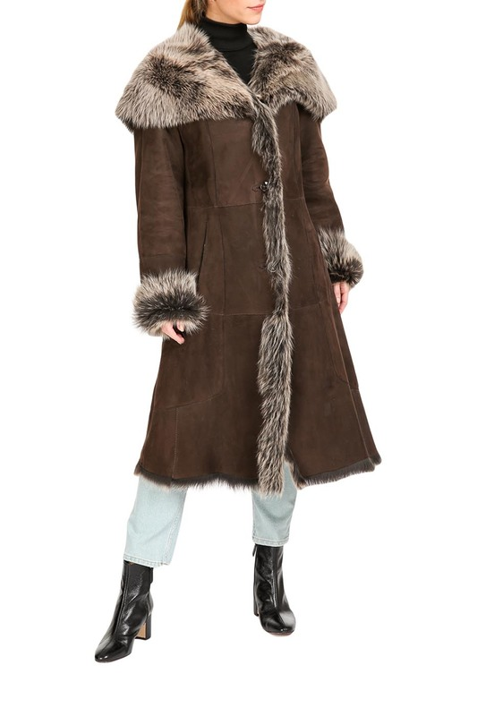 лучшая цена sheepskin coat HISO sheepskin coat